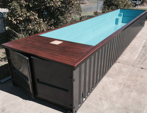pool containers piscinas dry 2040. Black Bedroom Furniture Sets. Home Design Ideas